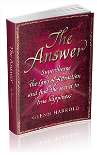 The Answer Law of Attraction Book by Glenn Harrold