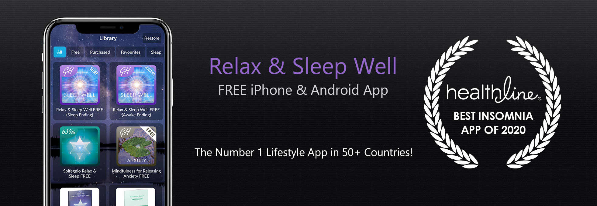 Relax & Sleep Well Free Hypnosis App